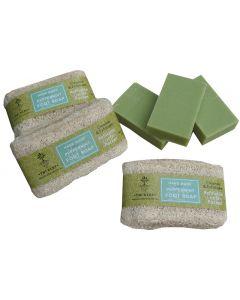 LP Peppermint Loofah Foot Soap